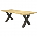 Cees&Co -  Table Corse Treetrunk OAK Wood