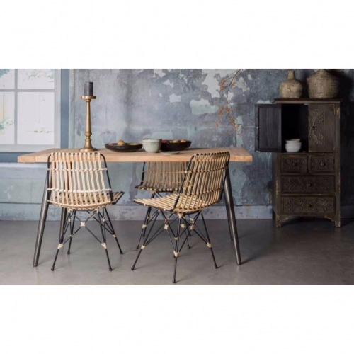 Bone - Kuba Chair rattan Stuhl