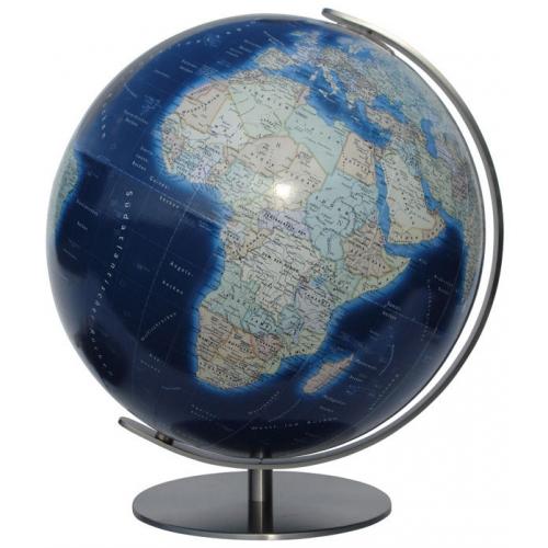 Columbus - Globus Duo Azzurro Ø 34 cm mit Kristallglaskugel