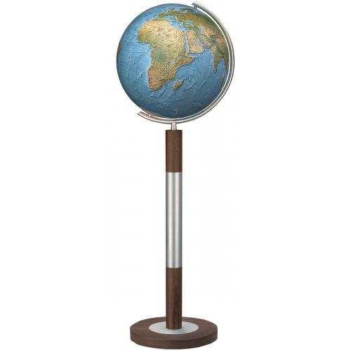 Columbus - Globus Duorama Ø 40 cm, Edelholz Standfuß