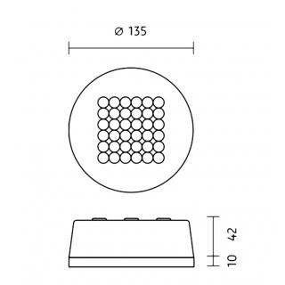 Aufbaugehäuse 35mm inkl. Konverter
