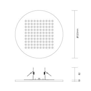 Aquagehäuse Hohlraummontage