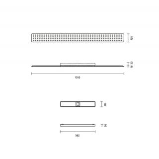Aufbaugehäuse inkl. Konverter dimbar (inkl. Dimmer)