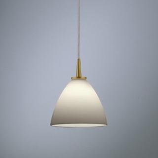 Opalglas weiß/gold