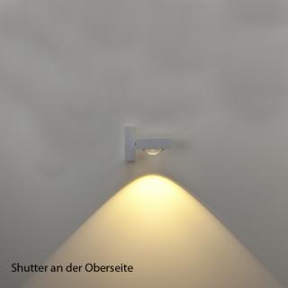 Shutter als Lichtstopp