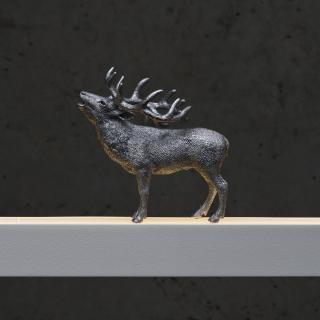 Hirsch in silber