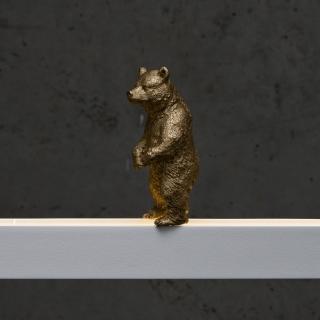 Bär in gold